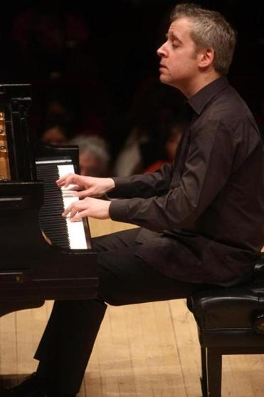 Pianist Jeremy Denk will play Liszt and Brahms on March 2 at Jordan Hall.